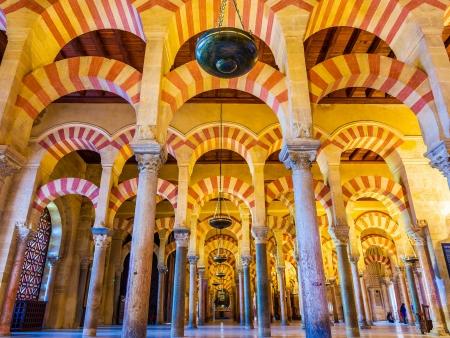 La monumentale Mezquita de Cordoue