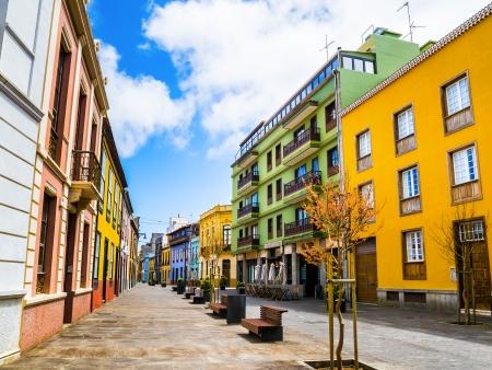 Maisons colorées de la Laguna…