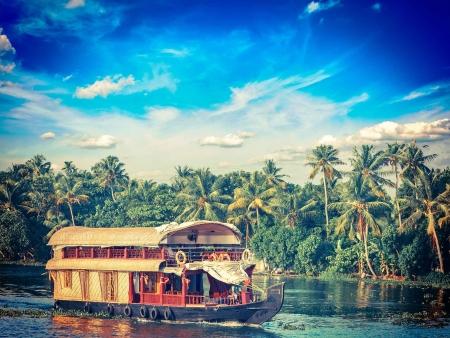 Au fil de l'eau dans les Backwaters…