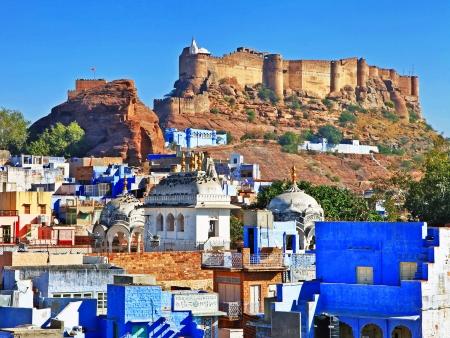 Jodhpur : ce rêve bleu