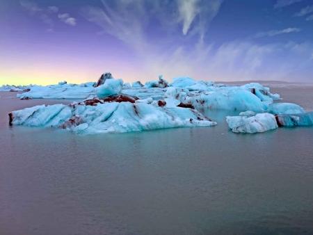 Des glaciers à la Baie des Fumées