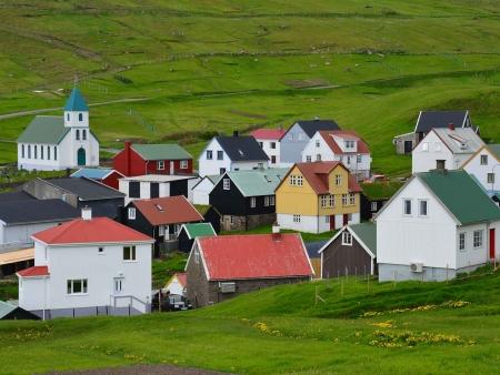 Gjógv, le plus beau village des îles Féroé