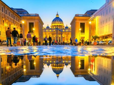 Etat du Vatican, Basilique Saint-Pierre et Chapelle Sixtine…