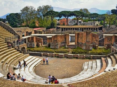 Du volcan Vésuve aux vestiges de Pompei