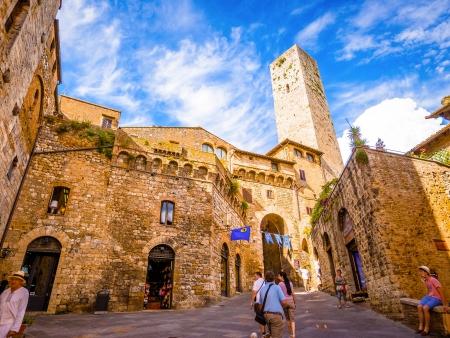 Douceur de vivre à San Gimignano