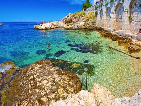 Rovinj, plages et eaux cristallines