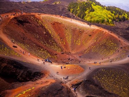 Ascension de l'Etna: à pied ou en téléphérique?