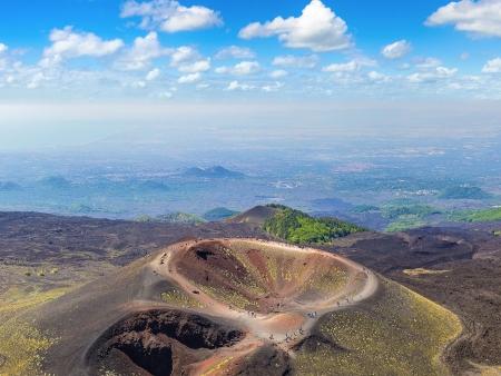 Sur les pentes de l'Etna