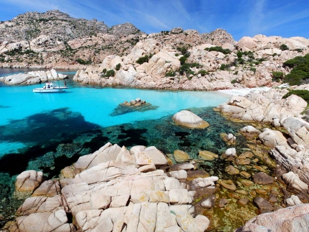 Exploration de l'archipel de la Maddalena