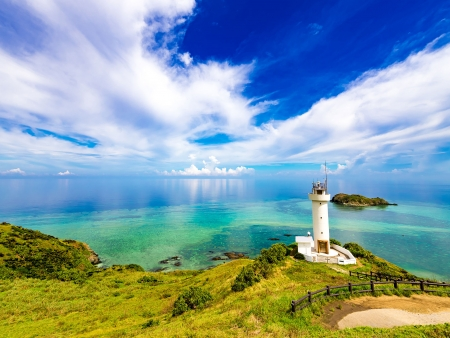 Envol vers les îles d'Okinawa