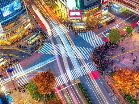 Tokyo où modernité et tradition s'emmêlent