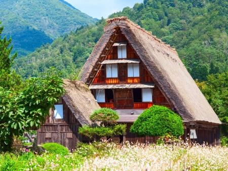 Petit village de Shirakawa-Go