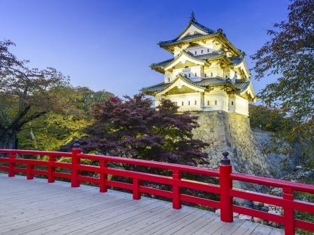 Le château historique d'Hirosaki