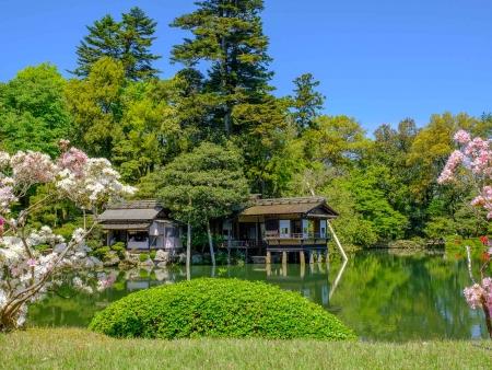 Kanazawa et le Jardin Kenrokuen