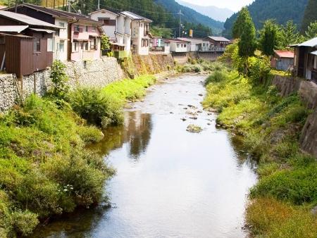 Gujo Hachiman, paisible village au cœur des montagnes