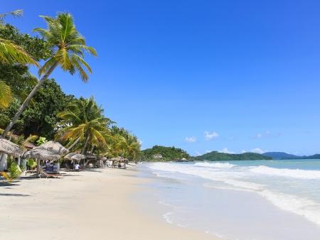 Jungle et sable blanc de Langkawi