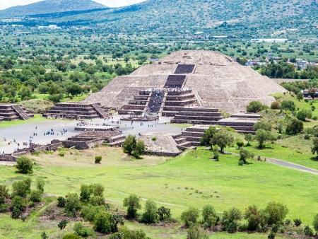 Le site de Teotihuacan