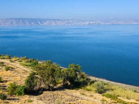 Le lac de Tibériade et ses alentours