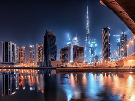 Départ de Dubaï