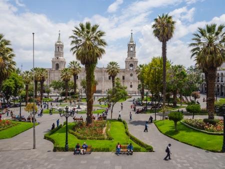 Arequipa, majestueuse et éternelle