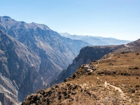Route vers le Canyon de Colca