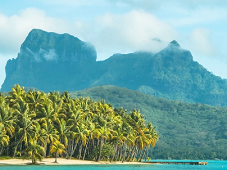 La beauté légendaire de Bora Bora