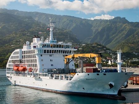 Embarquement vers les Tuamotu