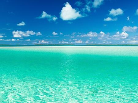 Plages et lagons des Tuamotu