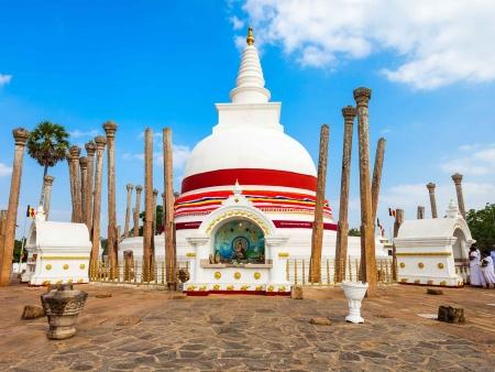 Trésors religieux à Anuradhapura
