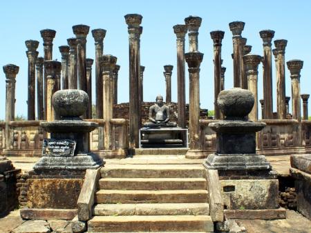 Site archéologique de Polonnaruwa