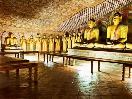Les grottes de Dambulla