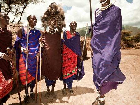 Fête et traditions Masai