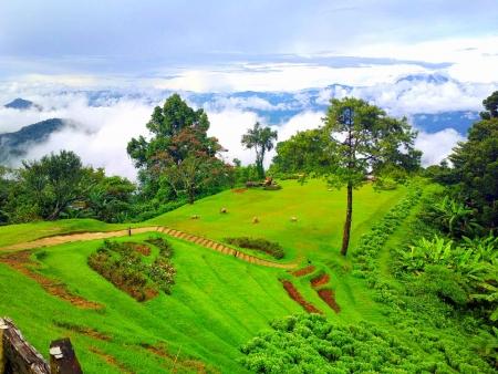 Collines et sentiers verdoyants de Chiang Mai