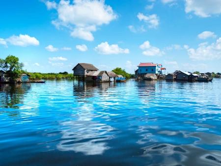 Villages lacustres de Tonlé Sap