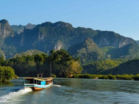 Traversée de la frontière entre Thaïlande et Laos