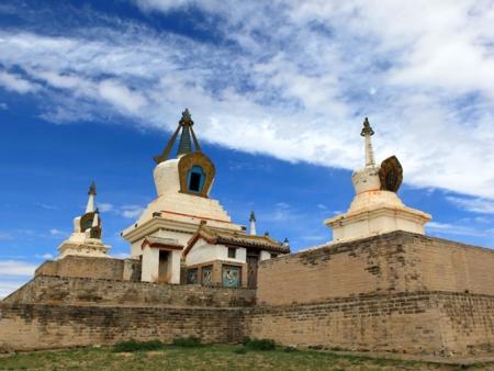 Le monastère de Gandan