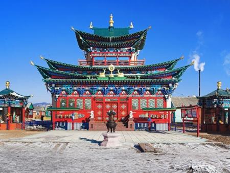 Arrivée à la capitale Mongole