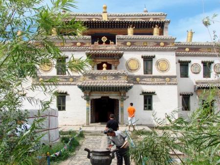 l'Ermitage de Zanabazar
