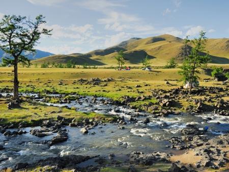 Visite de l'ermitage de Zanabazar & randonnée pédestre au bord de la rivière Orkhon