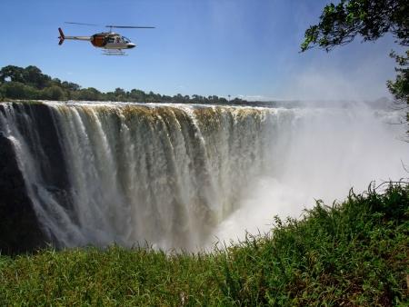 Hélicoptère ou croisière sur le Zambèze ?