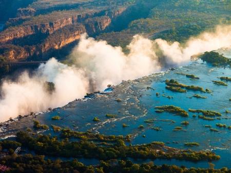 Sur les eaux de Zambèze