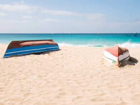 Dernière journée sur la plage avant le départ du Cap vert