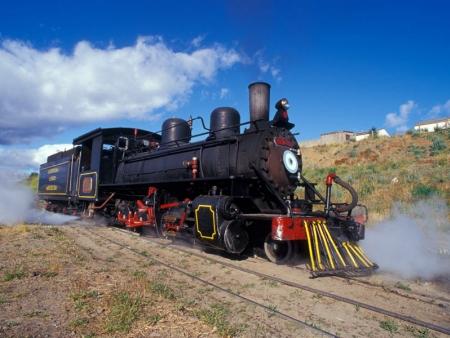 A bord du train à vapeur d'Esquel