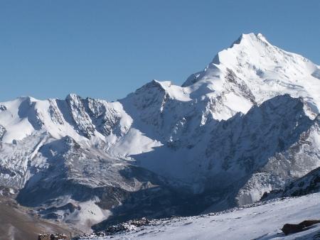 Passage du col de Cho La, 5330 mètres