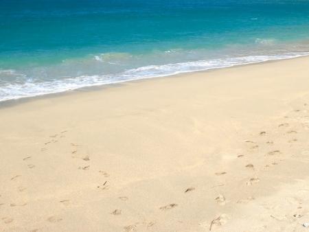 Plage de sable blanc de Bira
