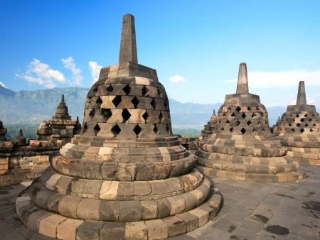 Visite du temple de Sukuh