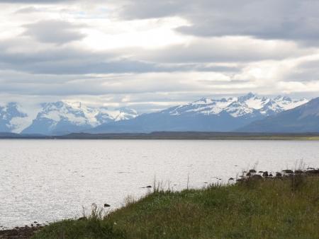 Début du trek dans le parc de Torres del Paine