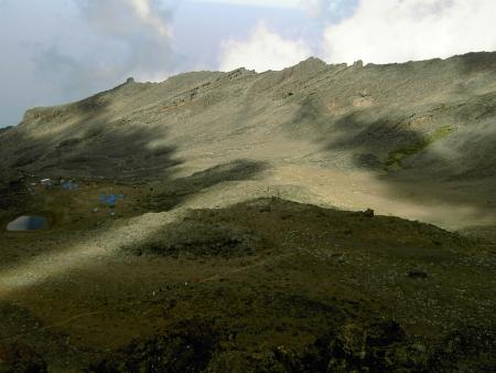 Panorama sur la vallée de Barranco