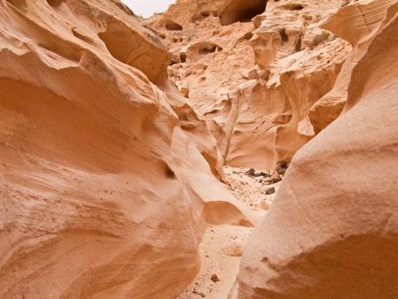 La falaise de Barranco