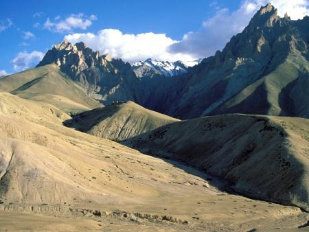 Passage du col de Kunzki La